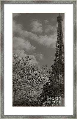 Paris In The Spring Framed Print by Louise Fahy