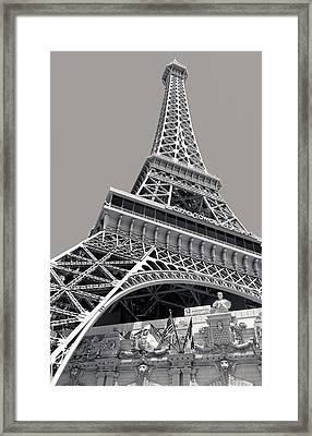 Paris Las Vegas Hotel Framed Print by Julie Niemela