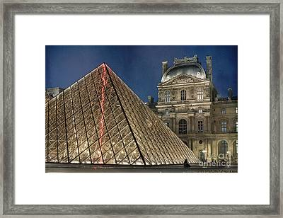 Paris Louvre Framed Print by Juli Scalzi