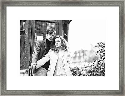Paris Lovers Framed Print
