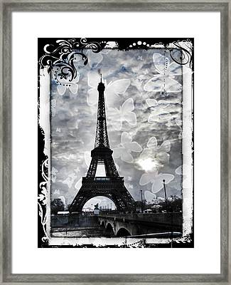 Paris Framed Print by Marianna Mills