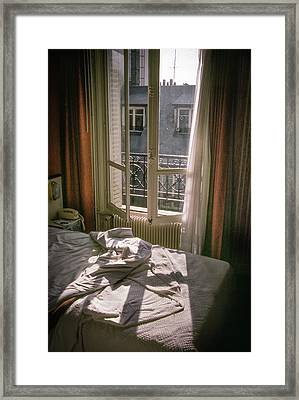 Paris Morning Framed Print