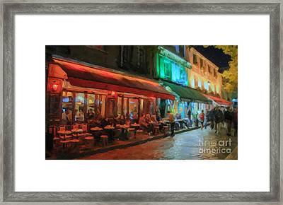 Paris Night Framed Print by Chris Armytage