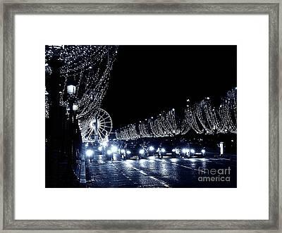Paris Night Framed Print by Yury Bashkin