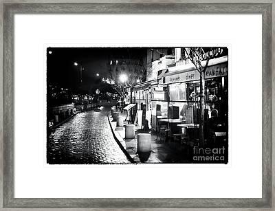 Paris Nights Framed Print