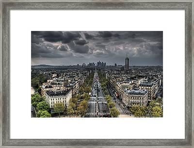Paris No. 2 Framed Print by Ryan Wyckoff