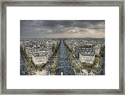 Paris No. 3 Framed Print by Ryan Wyckoff
