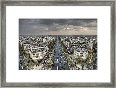 Paris No. 3 Framed Print