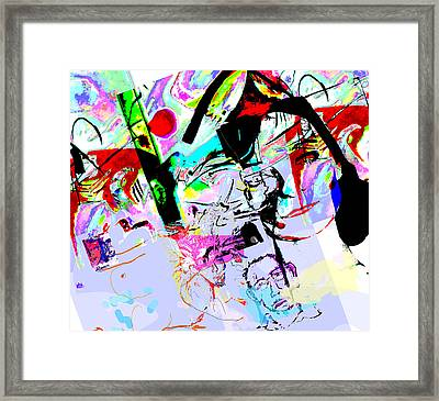 Paris Framed Print by Noredin Morgan