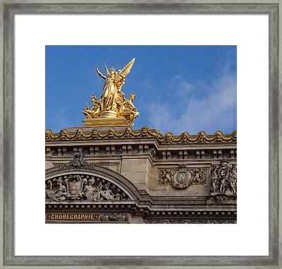 Paris Opera - Harmony Framed Print