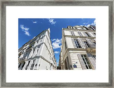 Framed Print featuring the photograph Paris Photography - Quai D-orleans by Melanie Alexandra Price
