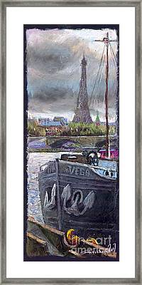 Paris Pont Alexandre IIi Framed Print by Yuriy  Shevchuk