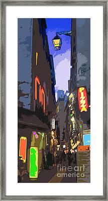 Paris Quartier Latin 01  Framed Print