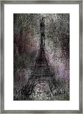 Paris Framed Print by Rachel Christine Nowicki