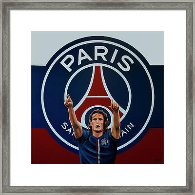 Paris Saint Germain Painting Framed Print