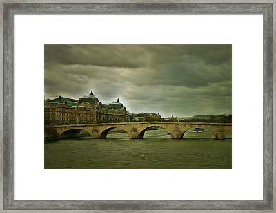 Paris Sight Framed Print