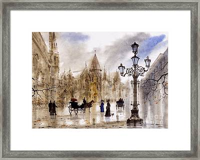 Paris Framed Print by Svetlana and Sabir Gadghievs