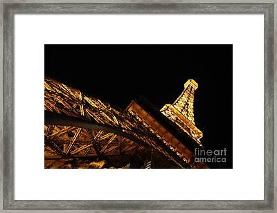 Framed Print featuring the photograph Paris by Wilko Van de Kamp