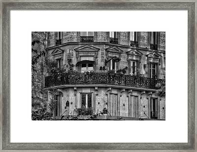 Parisian Apartment Framed Print