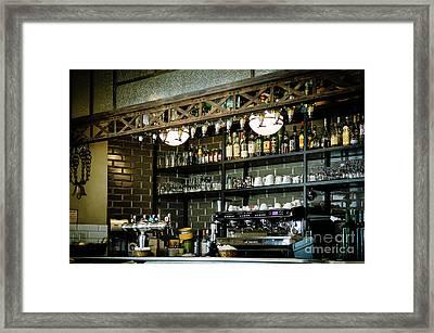Parisian Espresso Framed Print