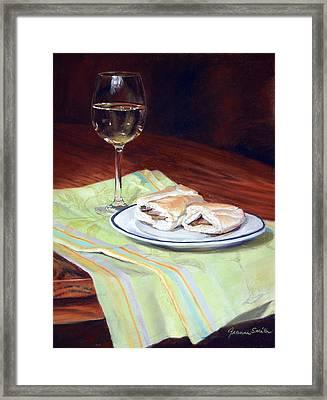 Parisian Lunch Framed Print