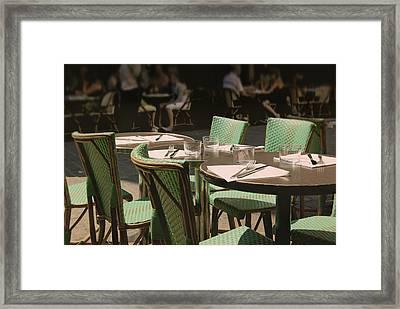 Parisian Moment Framed Print by JAMART Photography
