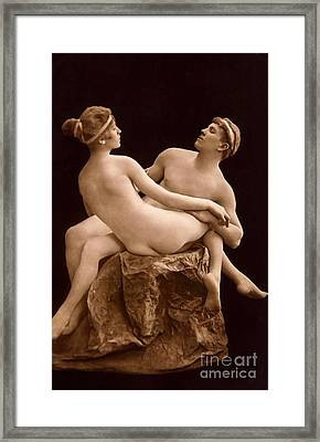 Parisian Nudes, 1923 Framed Print by French School