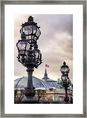 Parisian Skies Framed Print by Pablo Lopez