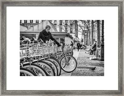 Parisien Framed Print by Pablo Lopez