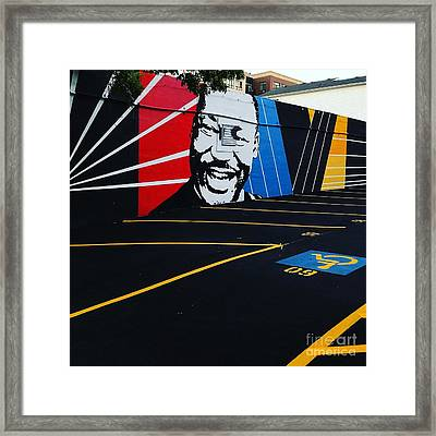 Park And Lead Or Leave And Follow Framed Print
