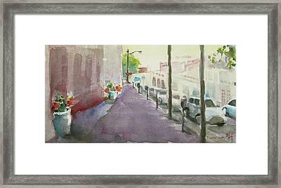 Park Avenue 3 Framed Print by Becky Kim