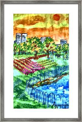 Park-avenue Framed Print by Ayyappa Das
