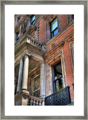 Park Avenue Building  Framed Print by Kelly Wade