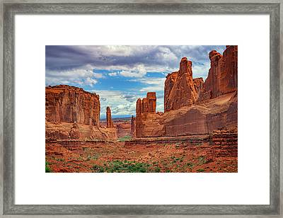 Park Avenue Framed Print