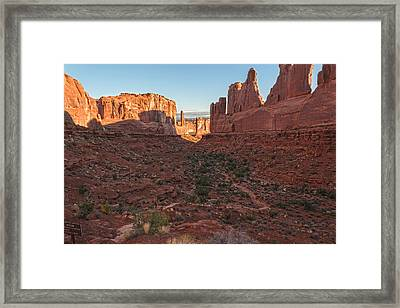 Park Avenue Sunrise Framed Print