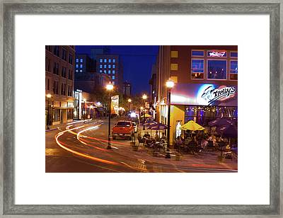 Park Central Downtown Framed Print by Ryan Burton