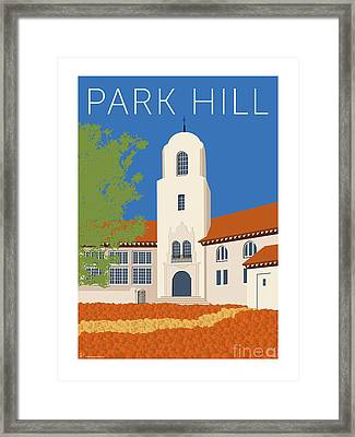 Park Hill Blue Framed Print