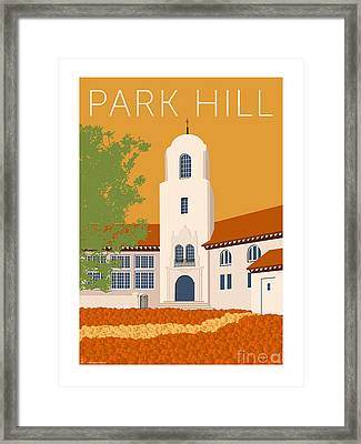 Park Hill Gold Framed Print