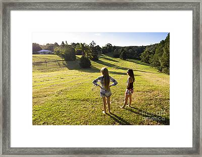 Park Lifestyle Framed Print by Jorgo Photography - Wall Art Gallery