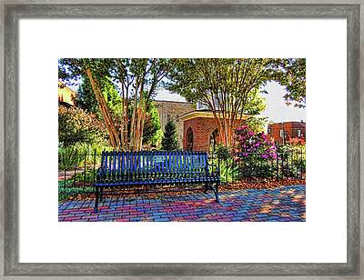 Park On Main 2 Framed Print by HH Photography of Florida