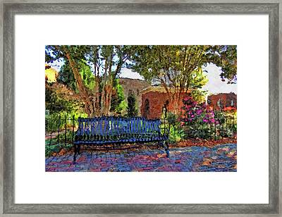 Park On Main Framed Print by HH Photography of Florida