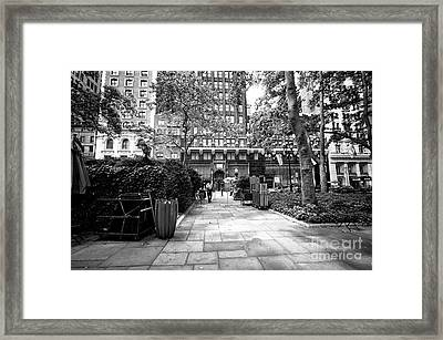 Framed Print featuring the photograph Park Patrol by John Rizzuto