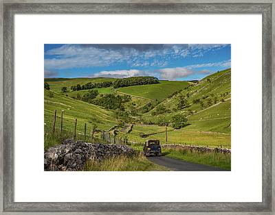 Park Rash Framed Print by Yorkshire In Colour