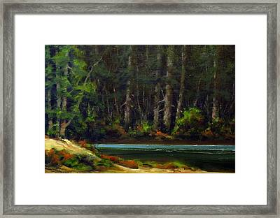 Park Refuge Framed Print