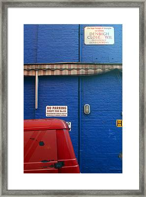 Park Thee Not Framed Print by Jez C Self