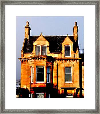 Park View Framed Print