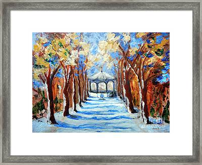 Park Zrinjevac Framed Print by Jasna Dragun