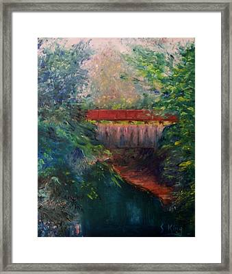 Parke County Framed Print by Stephen King
