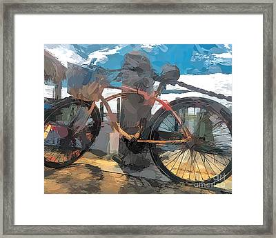 Parked At The Wharf Framed Print