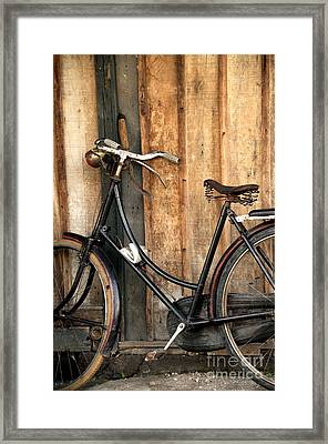 Parked Framed Print by Charuhas Images